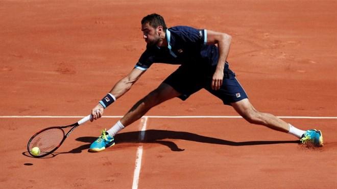 Roland Garros: Marin Čilić uvjerljivo do 4. kola