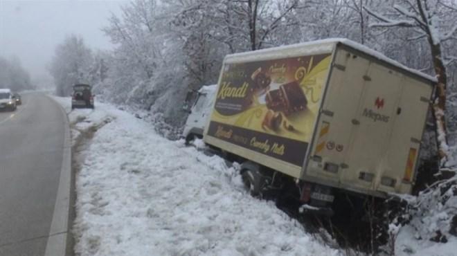 Sletio kamion Mepas grupacije, srećom nije bilo ozlijeđenih